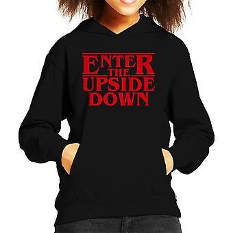 Stranger Things Enter The Upside Down Kid es Hooded Sweatshirt