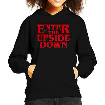 Stranger Things Enter The Upside Down Kid's Hooded Sweatshirt
