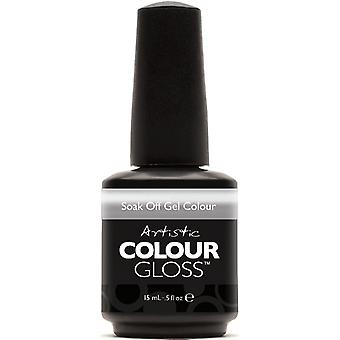 Artistic Colour Gloss Gel Nail Polish Collection - Misleading (03101) 15ml