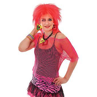 Bristol nyhet kvinner/damer Neon mesh topp
