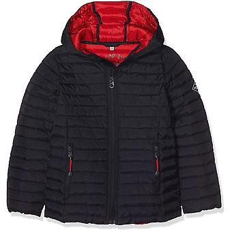 Joules Junior Cairn Pack Away Padded Jacket - Marine Navy