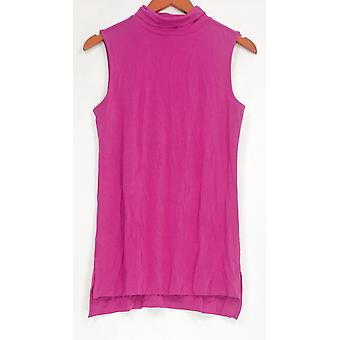 H par Halston Women-apos;s Top Essentials Sleeveless Magenta Purple A286205