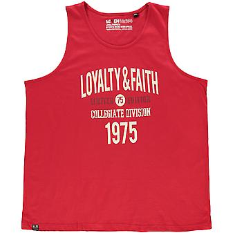 Loyalty and Faith Mens Balearic Vest Sleeveless Top Tee T-Shirt Round Neck