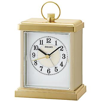 SEIKO CLOCKS ANALOG Analog Quartz Plastic Alarm Clocks QHE148G