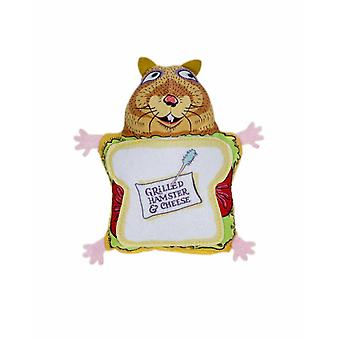 Fuzzu Grilled Hamster & Cheese Cat Toy
