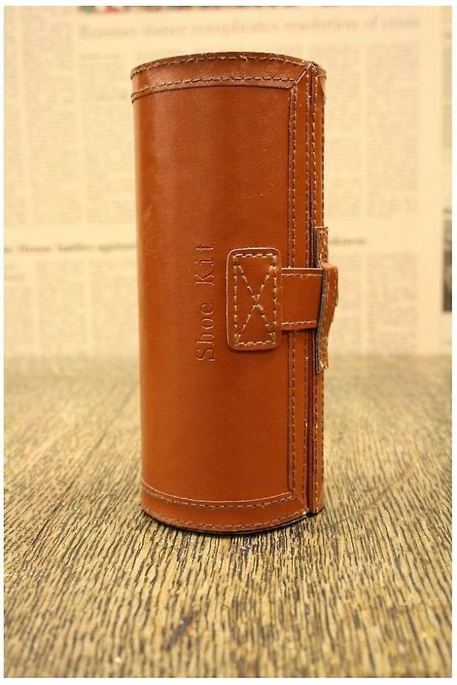 Woven Barrel Shoe Care Kit