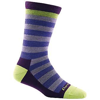 Darn Tough Lavender Womens Good Witch Crew Light Sock