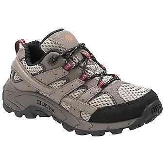 Merrell Bark Childrens Moab 2 Low Lace Walking Shoe