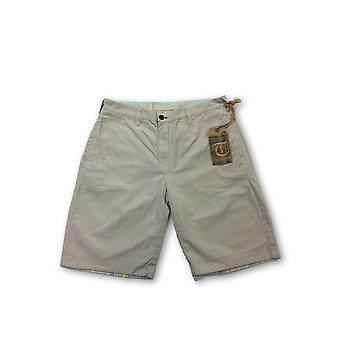 Tailor Vintage reversible shorts in stone