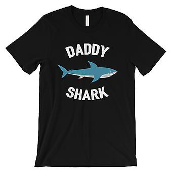 Daddy Mommy Baby Shark Family Matching Outfits Mens Black T-Shirt