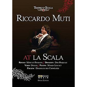 Muti/Furlanetto - Riccardo Muti at La Scala [CD] USA import
