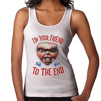 Chucky Im Your Friend To The End Women's Vest