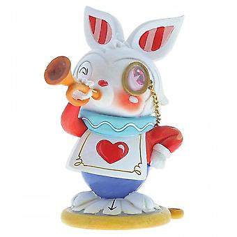 The World of Miss Mindy Presents Disney White Rabbit Figurine