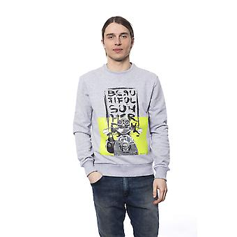 Sweatshirt gris Bagutta homme