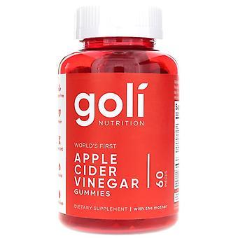 Goli Nutrição Maçã Vinagre Gummies - 60 Gummies