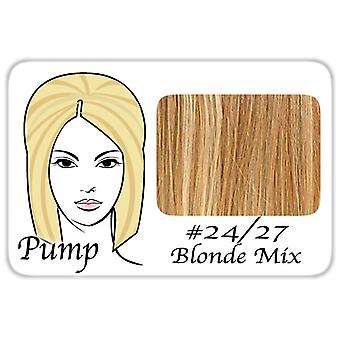 #24/27 Light Blonde w/ Dark Golden Lowlights Pro Pump