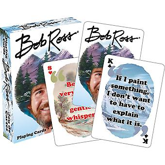 Bob ross - quotes v2 playing cards