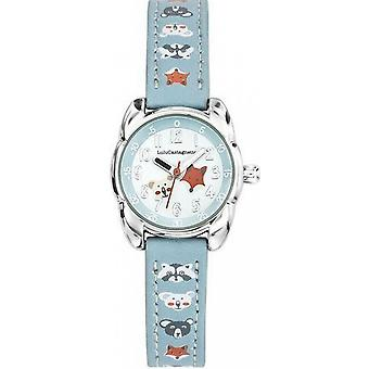 Watch Lulu Castanet 38844 - child Bracelet blue sky patterns Bo tier steel girl