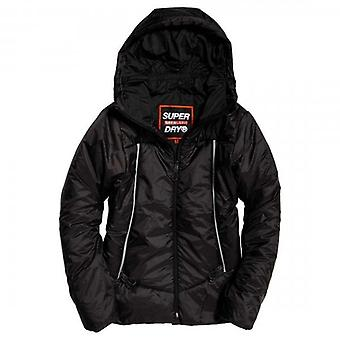 Superdry Black Casey Padded Jacket 02A