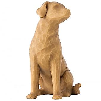 Willow Tree Love My Dog (light) Figurine