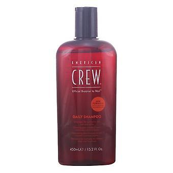Şampuan Amerikan Crew Yağlı saç