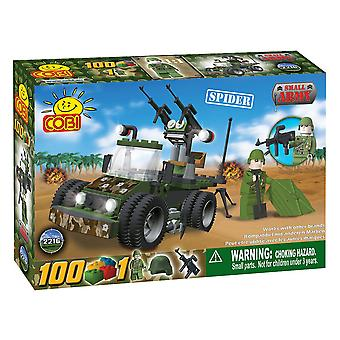 Small Army 100 Piece Vehicle Spider