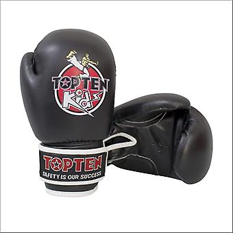 Top ten kids 2016 boxing gloves black 8oz