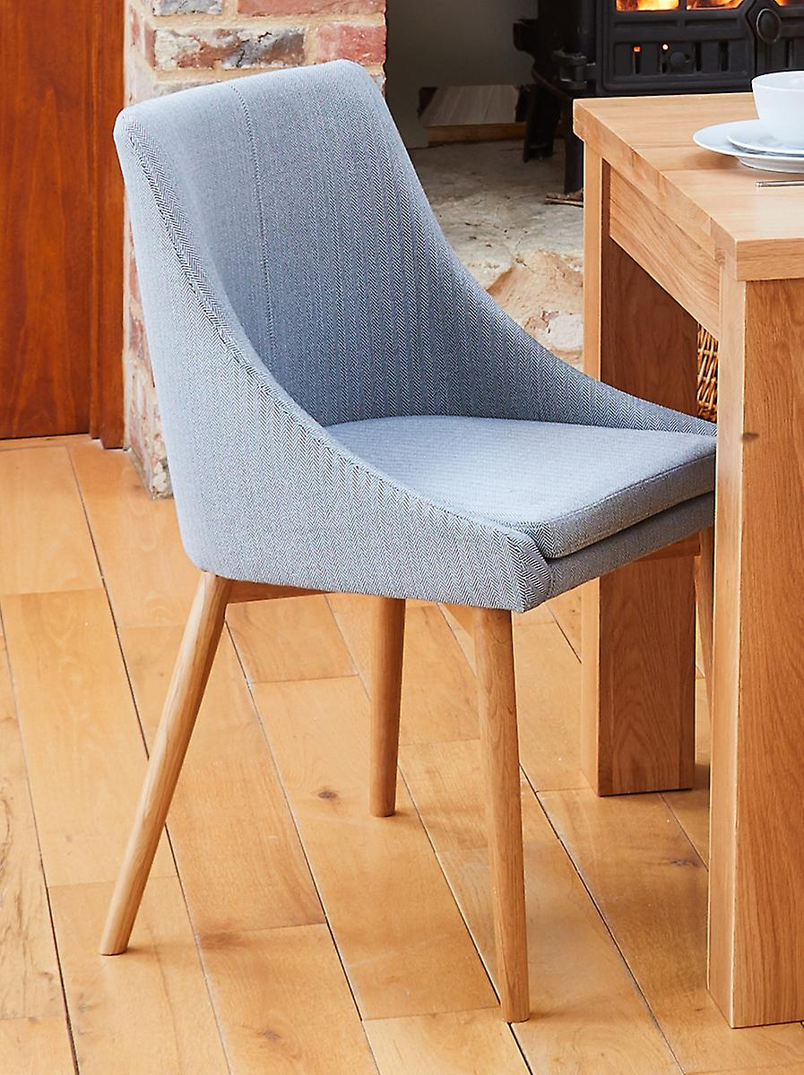 Baumhaus Oak Grey Dining Chair Pack de deux