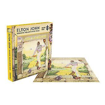 Elton John Jigsaw Puzzle Goodbye Yellow Brick Road Album new Official 500 Piece