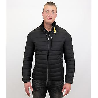 Short Jacket - Slim Fit - Black