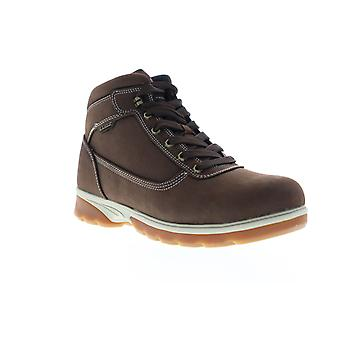 Lugz Zeolite Mid  Mens Brown Mid Top Lace Up Chukkas Boots