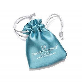 David Deyong Children's Sterling Silver Baby Deer & Stars Bracelet