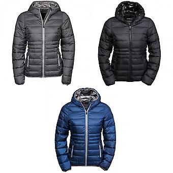 Tee Jays Womens/Ladies Hooded Padded Zepelin Jacket
