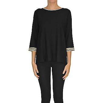 Alessandro Ezgl333015 Women's Black Viscose Sweater