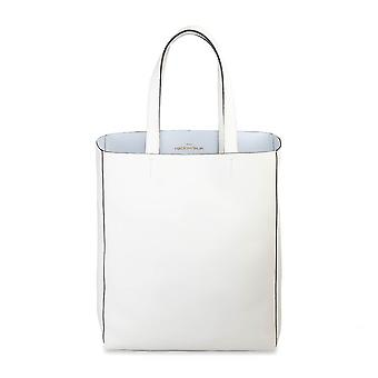 Made in Italia Original Women Spring/Summer Shopping Bag - White Color 28650