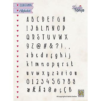 Nellie's Choice Clearstamps - Alphabet Javi ALCS005 A5 (01-20)