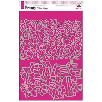 Pronty Stencil Kakut & Kukat 470.765.017 A4 Julia Woning
