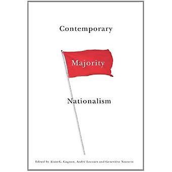 Nationalisme contemporain majorité par André Lecours - Genevieve Nooten