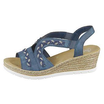 Rieker 619D814 universal summer women shoes