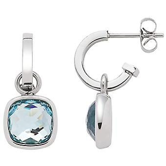 JEWELS BY LEONARDO Women's Steel-stainless circle earrings - 16573