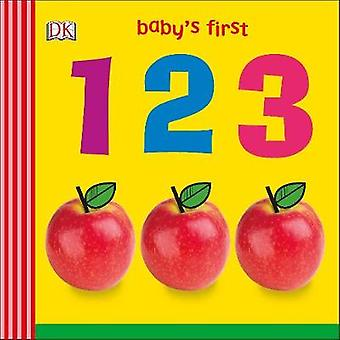 Baby's First 123 by DK - 9780241301807 Book