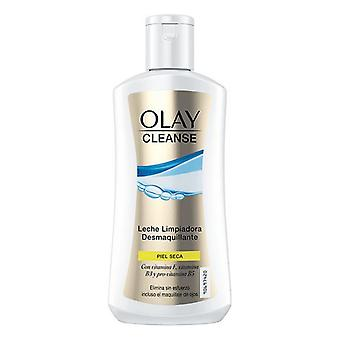 Cleansing Lotion Cleanse Olay (200 ml) Droge huid