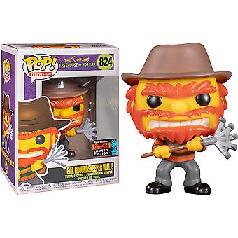 Simpsons Evil Groundskeeper Willie NYCC 2019 US Excl Pop!