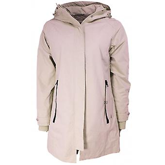 b.young Nude Waterproof Hooded Coat