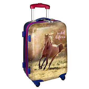 Spiegelburg Pferdefreunde Kinderkoffer 49 cm 4 Rollen