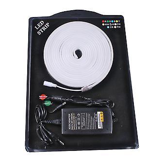 Jandei Kit Neon ledde flexibel 5m kall vit 6000K dekorativa 12VDC 6 * 12mm innehåller transformator och 1m kabel