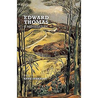 Edward Thomas - A Miscellany by Edward Thomas - 9781912916085 Book