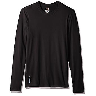 Duofold Men's Flex Weight Thermal Shirt, Black, 2X Large