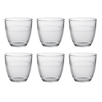Duralex Set of 6 Gigogne Tumblers, 22cl