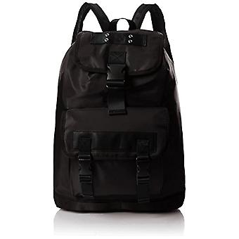 Aldo Lovialian - Black Leather Backpacks 14x52x33cm (W x H L)